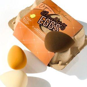 6-PACK Beauty Bakerie Organic Eggs makeup sponges